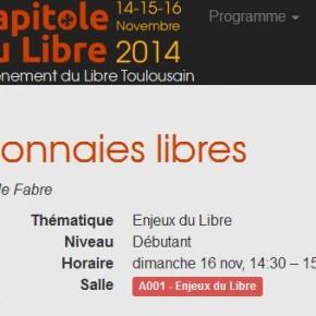 Monnaies libres _ Capitole du libre 2014